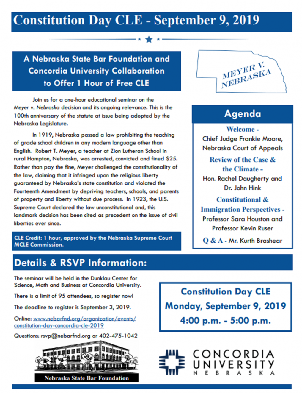 Constitution Day CLE