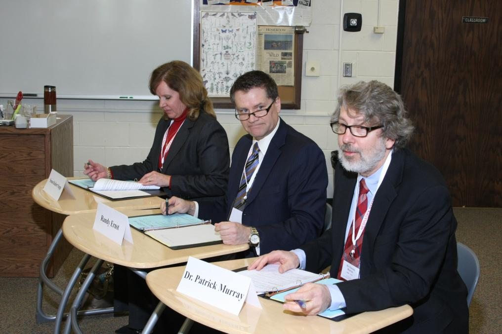 Judges at the 2013 We the People State Competition
